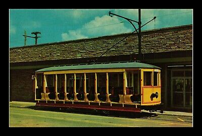 Us Postcard Old Fashioned Open-Air Summer Trolley Brill #9 Trolleyville Usa Ohio