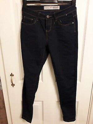 4-16 New Women  Black// Navy Blue Mid Rise Skinny Jeans from Primark   Size