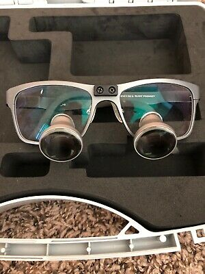 Orascoptic Loupes 3.5x Magnification Rudy Project With Case! Free Fast Shipping!