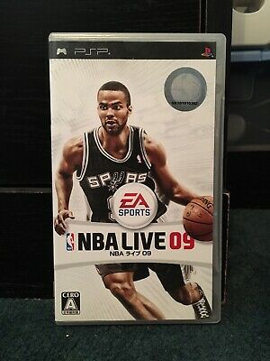 NBA Live 09 Sony PSP Complete In Box No Returns Japanese