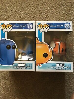 funko pop Disney Finding Nemo.    Nemo And Dory