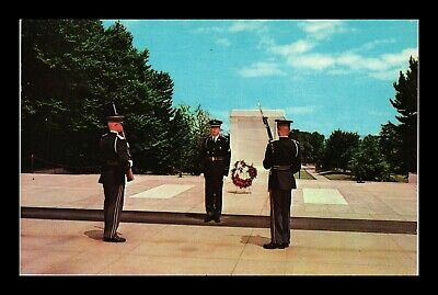 Us Postcard Tomb Of The Unknown Soldier Washington Dc Arlington Natl Cemetery
