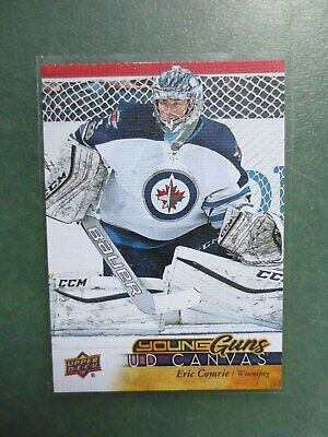 2017-18 Upper Deck Series Two Canvas Young Guns #C218 Eric Comrie