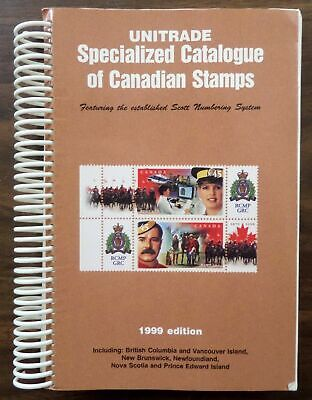 Unitrade Specialized Catalogue of Canadian Stamps, 1999 used Paperback #23