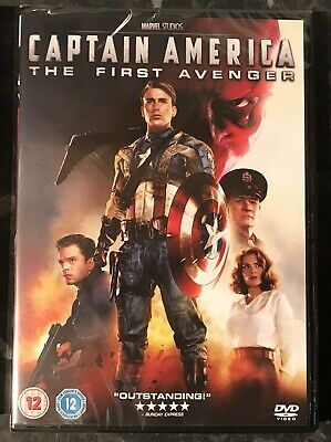Captain America The First Avenger Marvel Dvd Brand New & Sealed Mint Condition