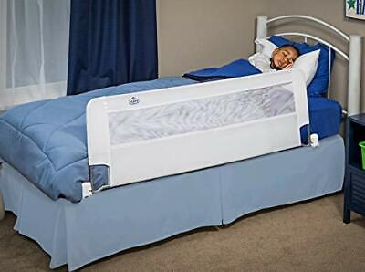 Swing Down 54Inch Extra Long Bed Rail Guard,with Reinforced Anchor Safety System