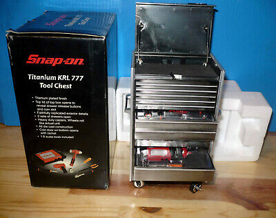 Snap-On Tools Chest w/ Tools KRL 777 Limited Edition ~ 1/8 Scale ~ See Pics