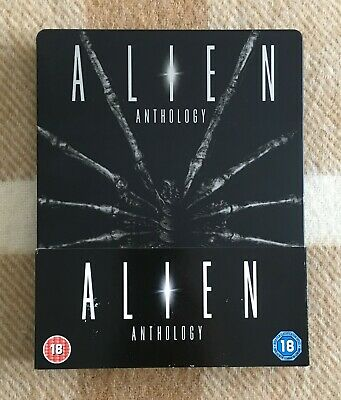 Alien Quadrilogy Blu-ray 4-Disc Steelbook