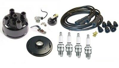 Tune up kit IH Distributor Farmall Tractor with IH Distributor USA Copper wires