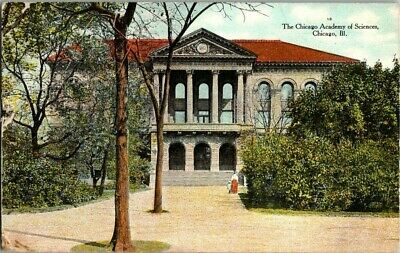 1910. CHICAGO ACADEMY OF SCIENCES. CHICAGO, ILL POSTCARD 1a12