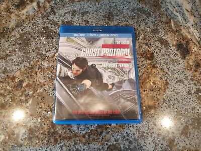 Mission Impossible Ghost Protocol -- Blu-ray Disc