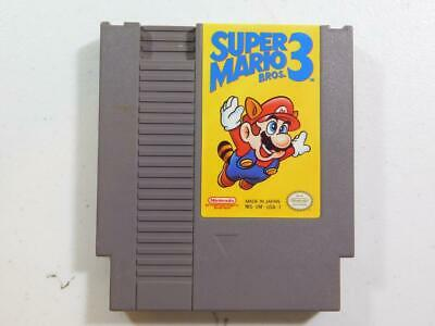 Super Mario Bros. 3 (Nintendo Entertainment System, 1990) NES CLEANED & TESTED