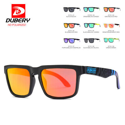 DUBERY Men Women Vintage Polarized Sunglasses Driving UV400 Fishing Sport Shades