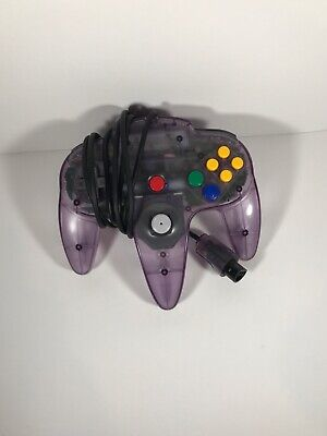 Nintendo N64 Controller. Used. Works great all buttons are present and working.