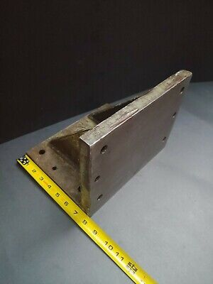 "Heavy Duty Angle Plate 10""x 7-3/4"" Milling Fixture Grinding Machinist Tool"