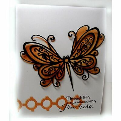 Butterfly Metal Cutting Dies Stencil Paper Cards Scrapbooking Embossing Craft