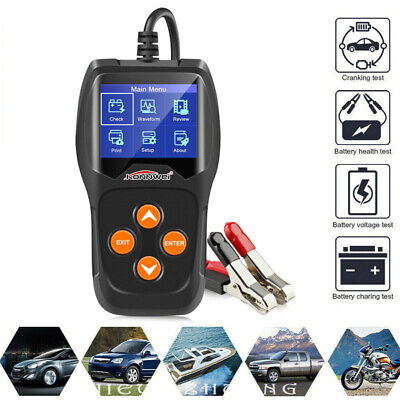 12V Car Battery Tester KONNWEI KW600 Digital Auto Vehicle Battery Analyzer M7D0B