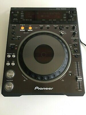 Pioneer DVJ-1000 Professional DJ DVD and CD Table Top Player with MP3 and Video