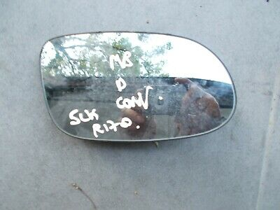 Right driver side convex mirror glass Mercedes SLK Class R170 1996-2004 13RS