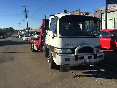 1992 Hino Fd Tilt Tray Tow Truck Craddle Towing