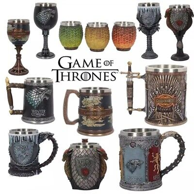 Game of Thrones Coffee Mugs Stainless Steel Resin Cups Creative Table Decoration
