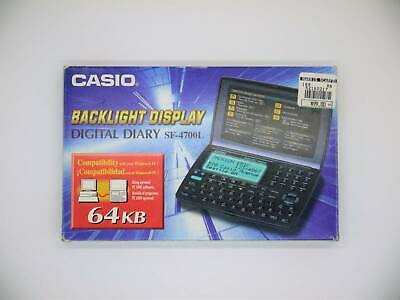 Original Casio SF-4700L Digital Diary With Box And Instructions