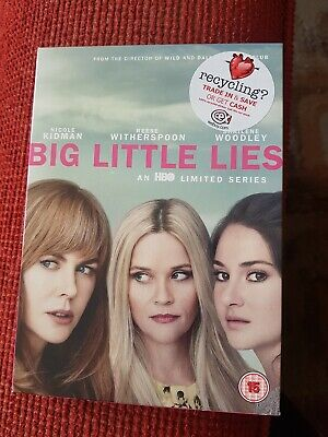 Big Little Lies - DVD BOX SET. HBO TV SERIES. NICOLE KIDMAN. REESE WITHERSPOON
