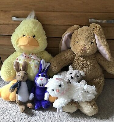 Bundle Of Soft Toys Including Build A Bear