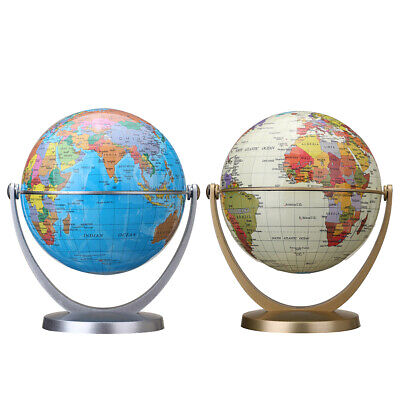 360 Dregee Rotating Globes Earth Ocean Globe World Geography Map Table Desktop
