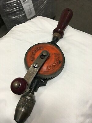 Vintage Stanley Hand Drill Collectable Old Tool