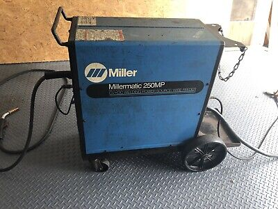 Miller Millermatic 250MP CV/DC 28V Microprocessor MIG/FCAW Welding Power Source