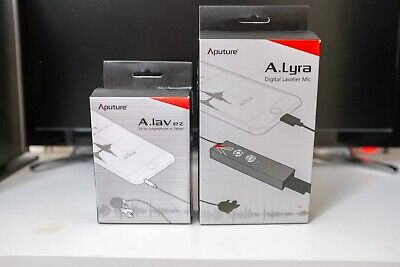 Aputure A.Lav and Aputure A.Lyra Lavalier Microphone