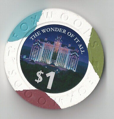 $1 Connecticut Foxwoods Resort Indian Casino Chip The Wonder Of It All
