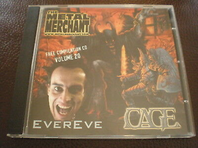 THE METAL MERCHANT Free Compilation CD Vol. 20 Edenbridge Cage Platitude Hellion