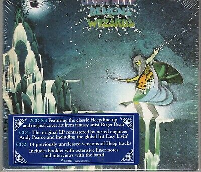 Demons and Wizards [Digipak] Uriah Heep  2 Cd's New And Sealed