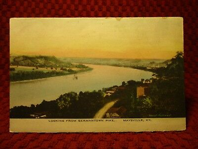 Early 1900'S. From Germantown Pike. View Of Maysville, Kentucky. Postcard I3