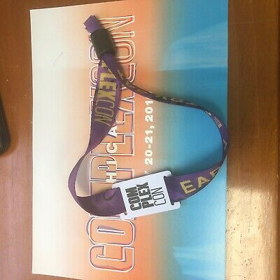 COMPLEXCON CHI EARLY ENTRY Saturday Badge Pass Ticket x1 SHIP FAST Not VIP CHEAP