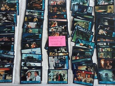 dr who strictly definitive series 2 cards almost complete base set 4th job lot