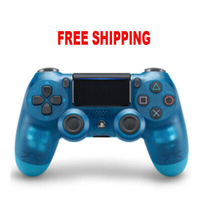 Cystal Blue PlayStation 4 PS4 Dualshock Bluetooth Wireless Gamepad Controller