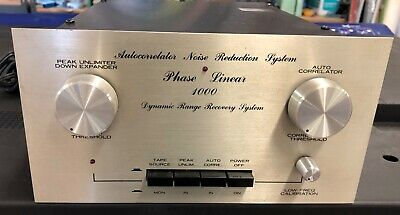 Phase Linear Vintage 1000 Auto Correlator Noise Reduction System 1970's Silver