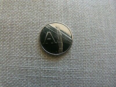 "a-z 10p. Letter ""A"". Uncirculated. Direct from the royal mint. See description."