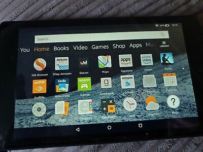 """Amazon Kindle Fire HD 8 Tablet with Alexa, 8"""", 32GB (7th gen) -  used"""