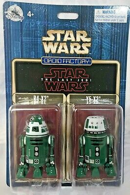 Disney Star Wars Last Jedi Droid Factory Set R4-X2 AND Y5-X2 NIB