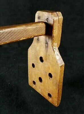 Sm Antique Late 1800s Apple Butter Stirrer Wood Handmade Primitive 25x6 In FINE