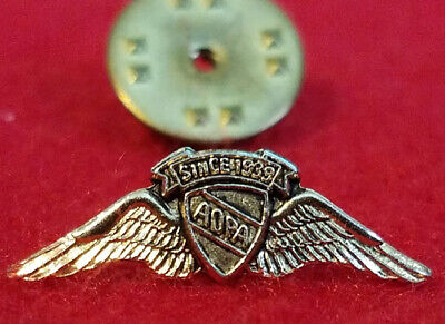 Vintage - AOPA (Aircraft Owners and Pilot Assn) Since 1939 Hat or Lapel Pin