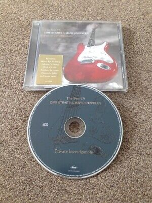 DIRE STRAITS & MARK KNOPFLER Private Investigations Best Of CD Sultans Of Swing