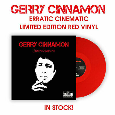 Gerry Cinnamon Erractic Cinema Exclusive Red Vinyl Colour Record Album 2019 New