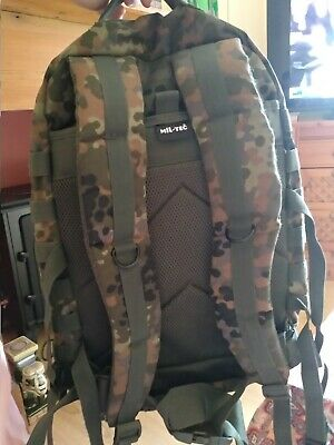 4285b8f010c Mil-Tec Molle Assault Pack Us Military Army Combat Patrol Rucksack Backpack