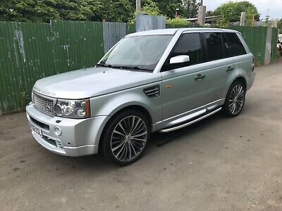 Land Rover Range Rover Sport Hse 3.6L Tdv8 2008 Silver Autobiography Bumpers