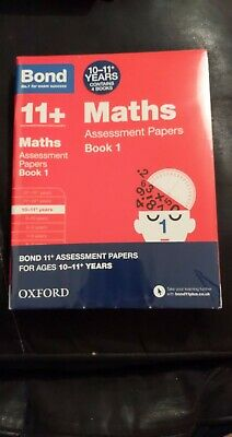 Bond 11 Plus Assessment Papers English Maths Verbal Reason 10-11+ Year 4book Set